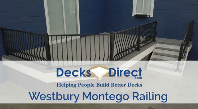 Get the look of the Westbury Montego Railing system!