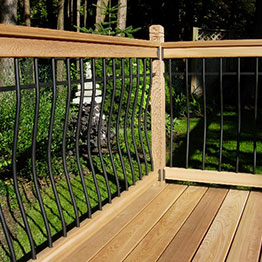 Metal Deck Railing - DecksDirect