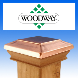 Woodway Post Caps