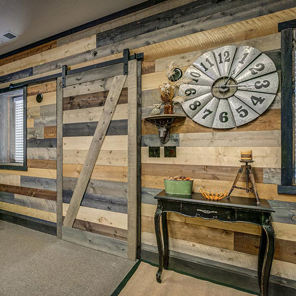 Barn Wood Accent Wall In A Box By Coeur Du0027 Alene   Mixed Colors Box