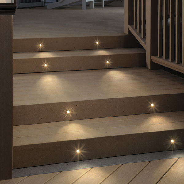 Recessed LED Step Light By DecKorators