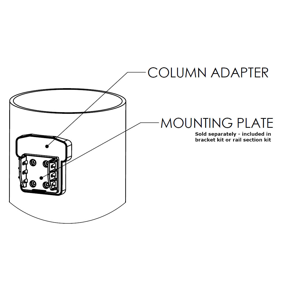 8 column adapter by durables decksdirect 8 column adapter by durables stair pooptronica Images