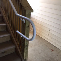 Durables Secondary Handrail