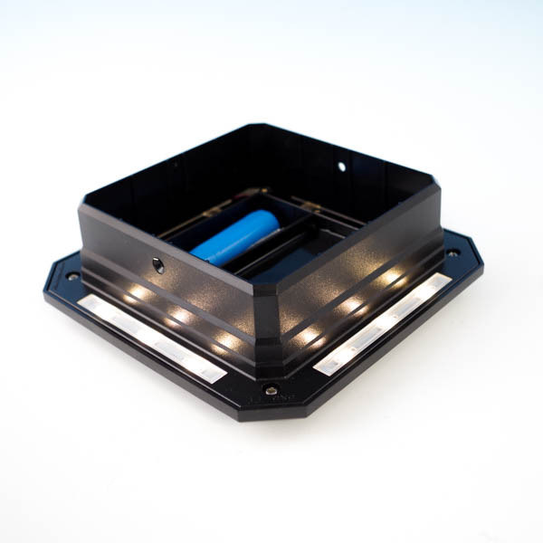 Ultra Bright Solar Post Cap Light For Timbertech