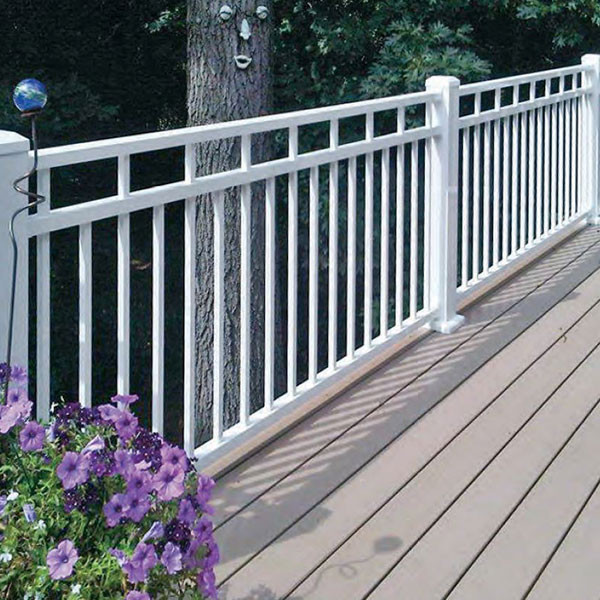 Riviera Ii Stair Rail Section Kits By Westbury Aluminum Railing Write A Review