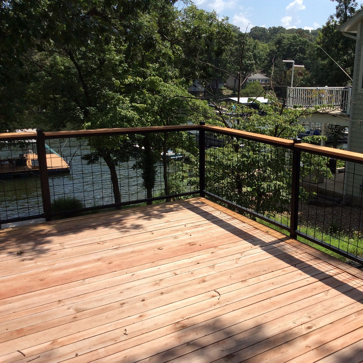 4x4 Mesh Level Rail Panels by Wild Hog Railing - DecksDirect