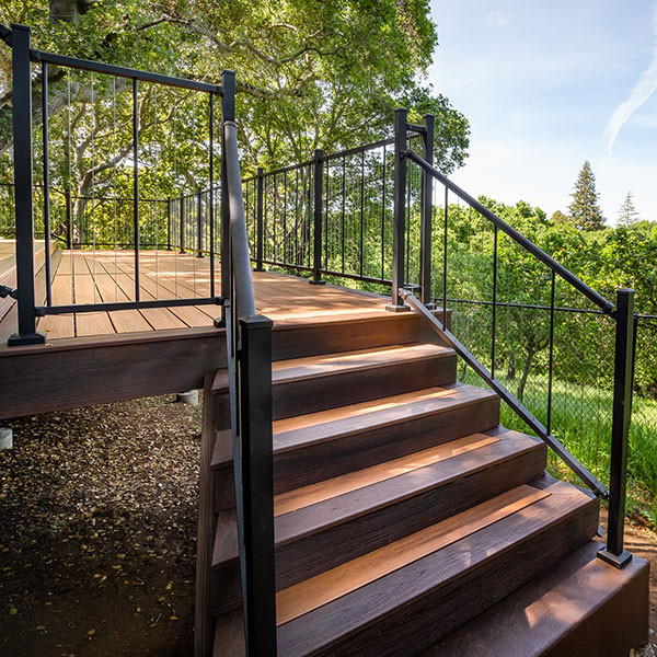 VertiCable Stair Rail Section Kits By Westbury Aluminum ...