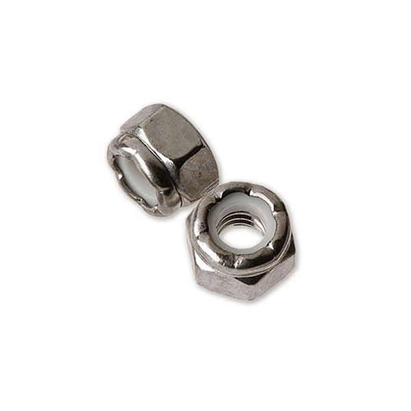 316 Stainless Nylon Insert Locknut for CableRail by Feeney