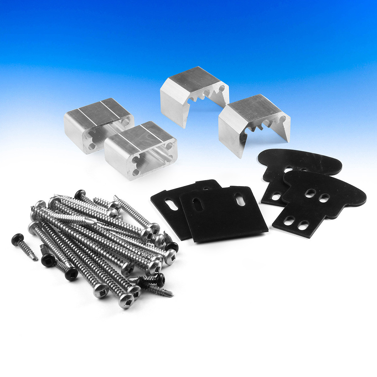 DesignRail Cut Kit by Feeney - Level - Uninstalled - Package Contents