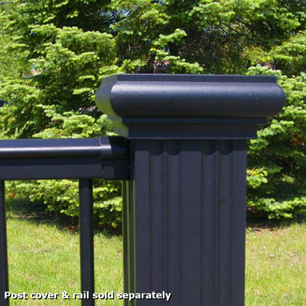 Aluminum Newel Cap and Base Kit by Afco