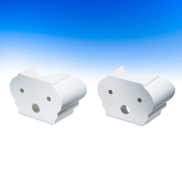 ALX Classic 45° Adapters by Deckorators - White
