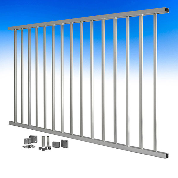 ALX Contemporary Level Railing Kit by Deckorators
