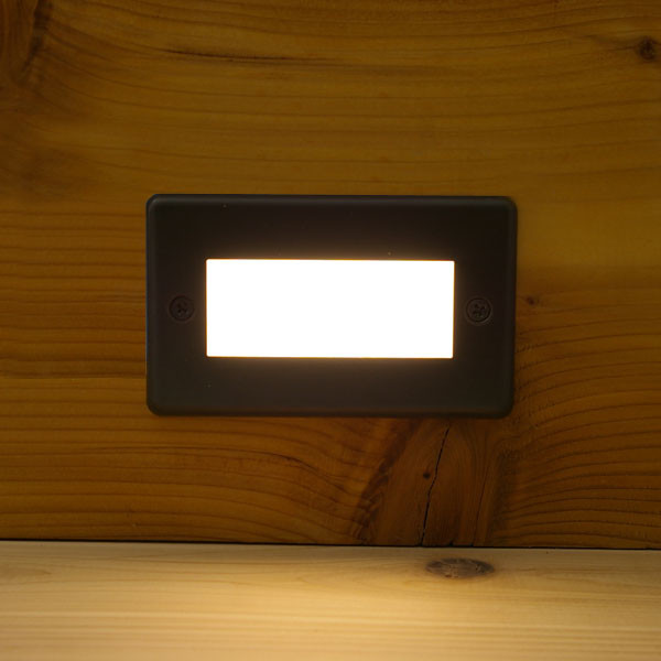 Corona Recessed LED Riser Light by Aurora Deck Lighting - Fully Installed