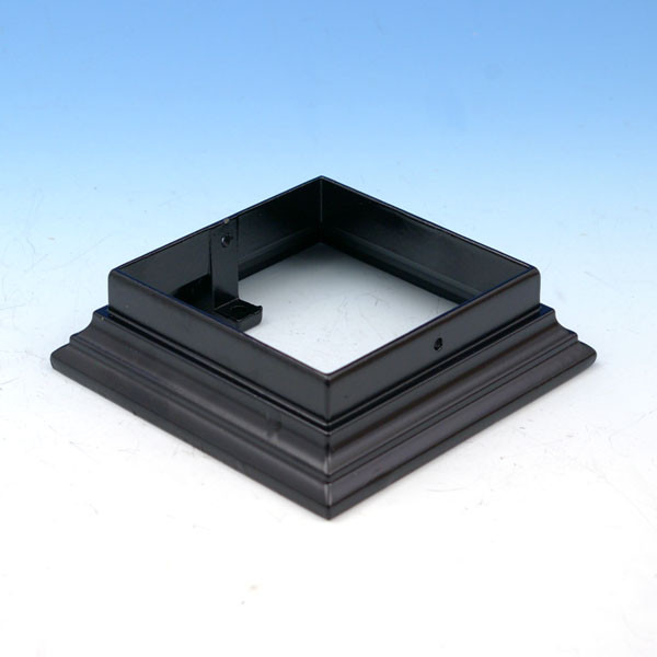 Flat Rail Surface Adapter by Aurora Deck Lighting