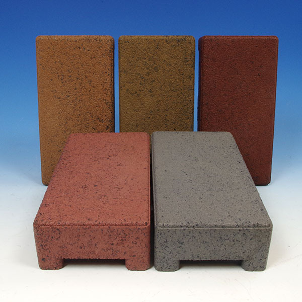 "AZEK Pavers Standard 4"" x 8"" with Grid - Colors"