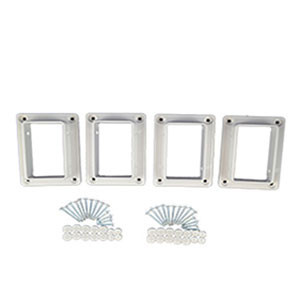 Level Bracket Kit (White)