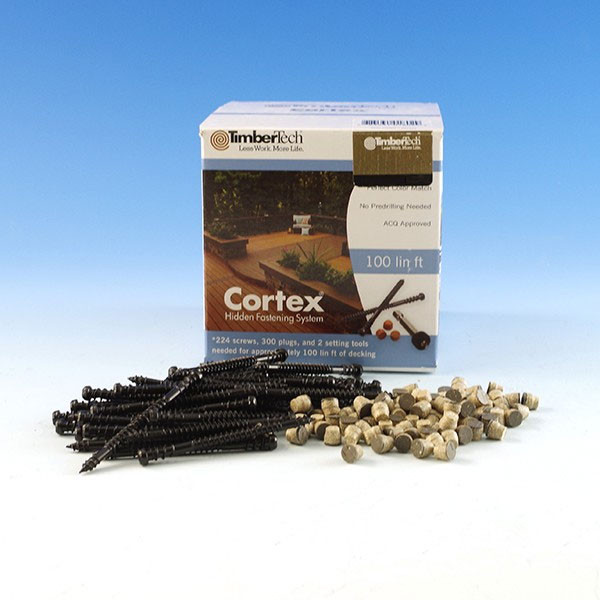 Cortex Concealed Fastening System for TimberTech Decking
