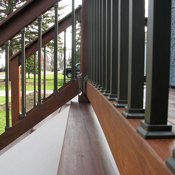 Estate Square Balusters by Deckorators