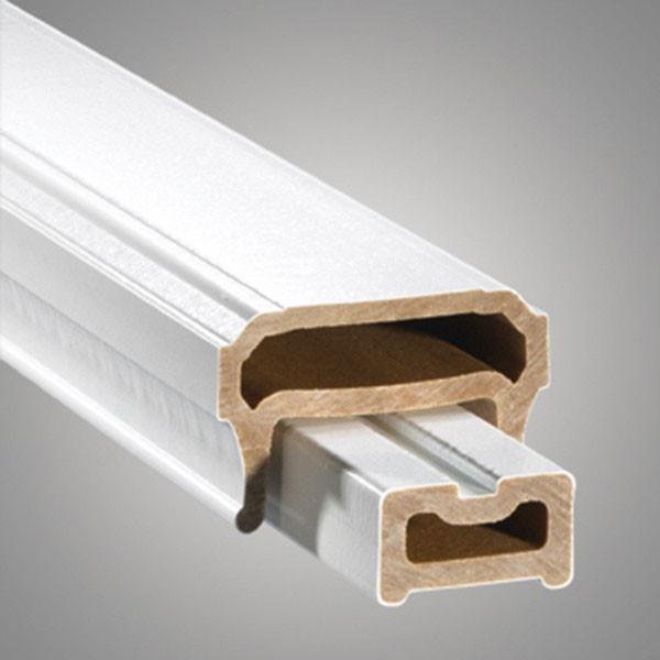 CXT Contemporary Rail Pack for Glass Balusters - White Top Rail