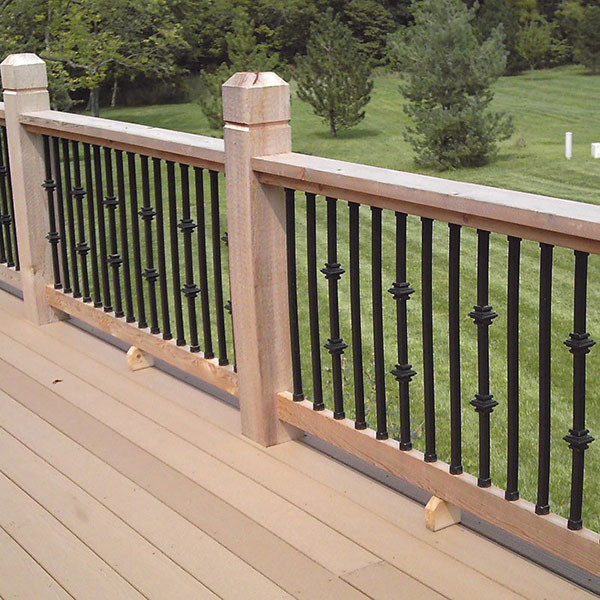 Dekor Double Casey Collar Square Balusters