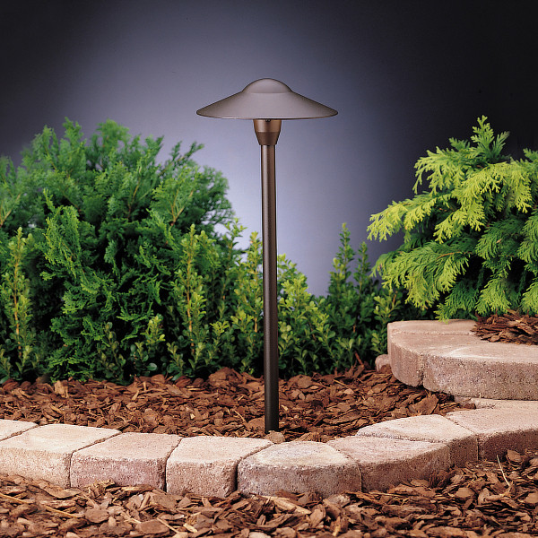 Kichler Dome Path Light - Textured Architectural Bronze