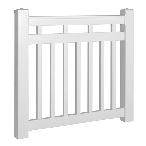 Dorset Gate Kit by Durables - White