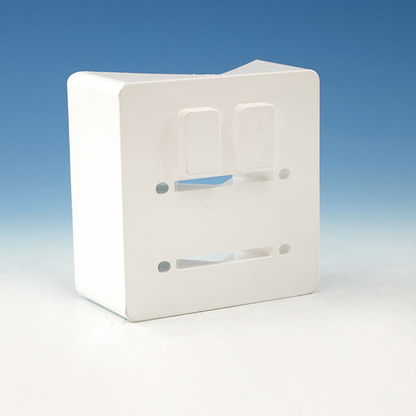 45 Degree Adapter by Durables - White