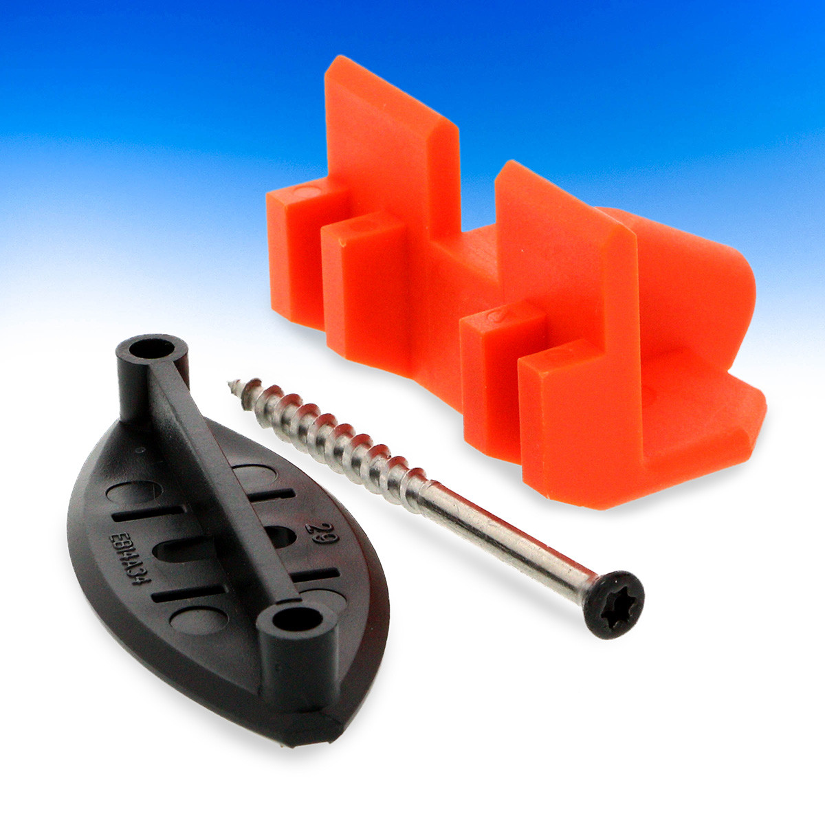 EB-TY Hidden Deck Fastener by Simpson Strong-Tie - Provides 1/4 in spacing