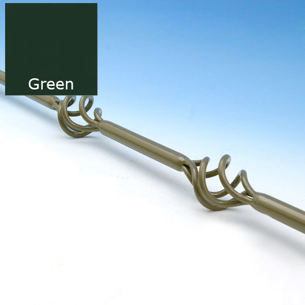 10 Pack Vintage Series Round Double Basket Baluster by Fortress Iron - 26 in - Green - Clearance