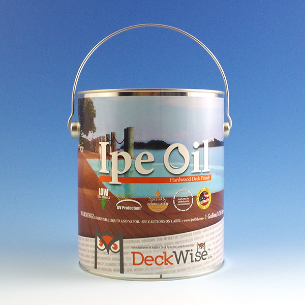 Ipe Oil Hardwood Deck Finish - Gallon
