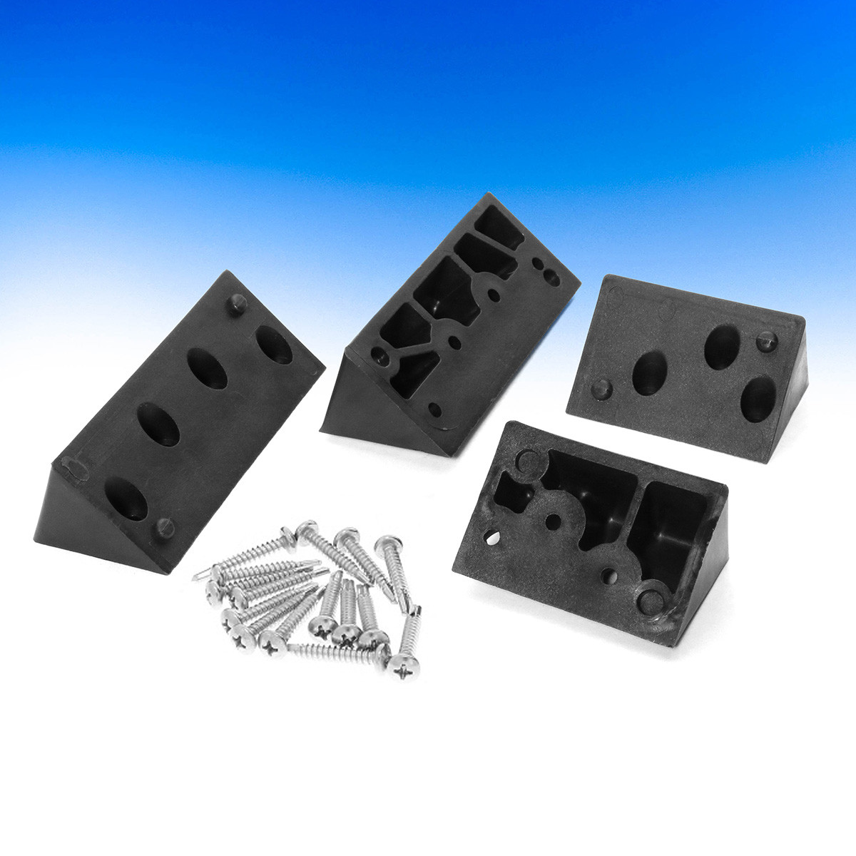Lite 10 Angle Adapters by InvisiRail - Black 45°