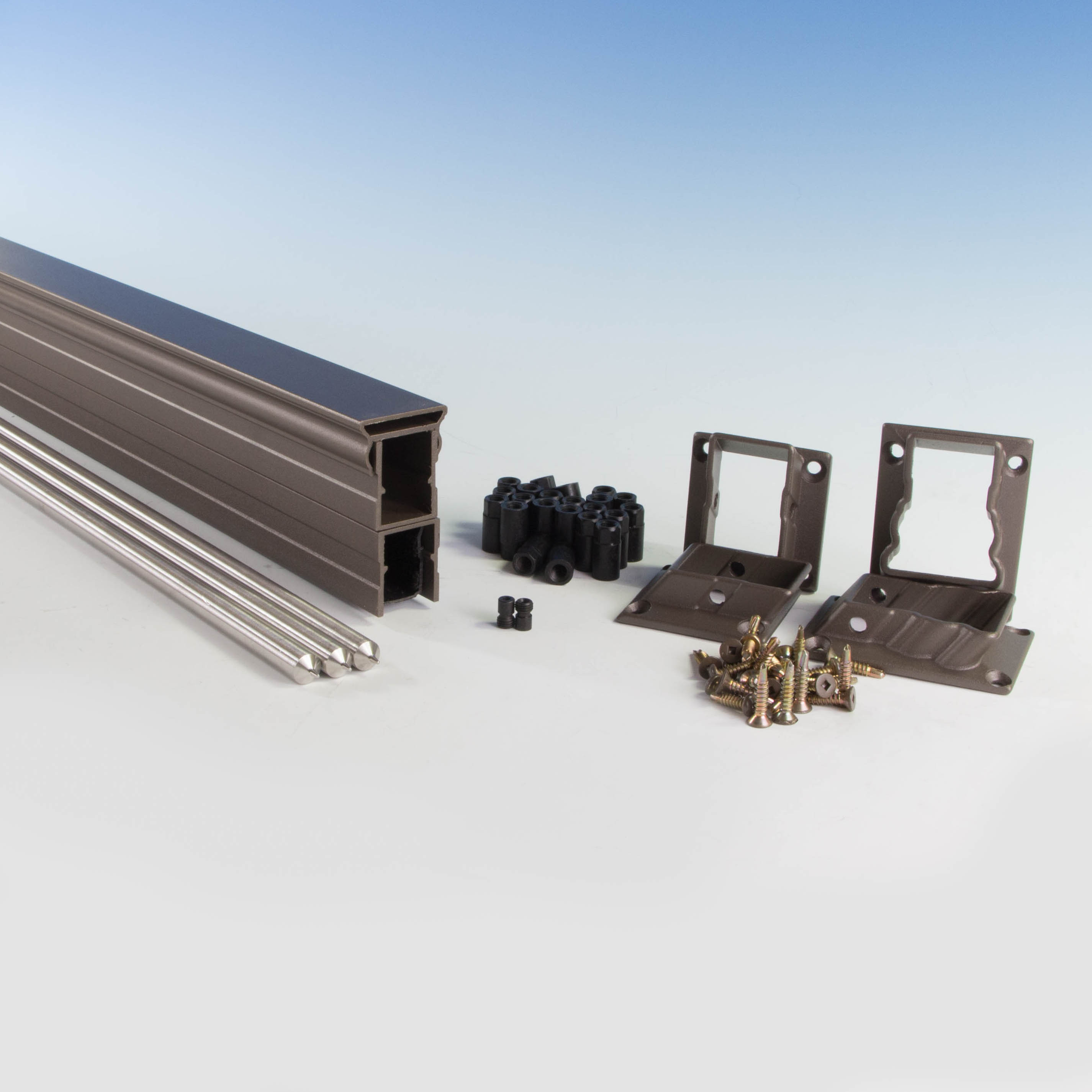 Vertical Cable Rail Stair Kit by KeyLink - DecksDirect