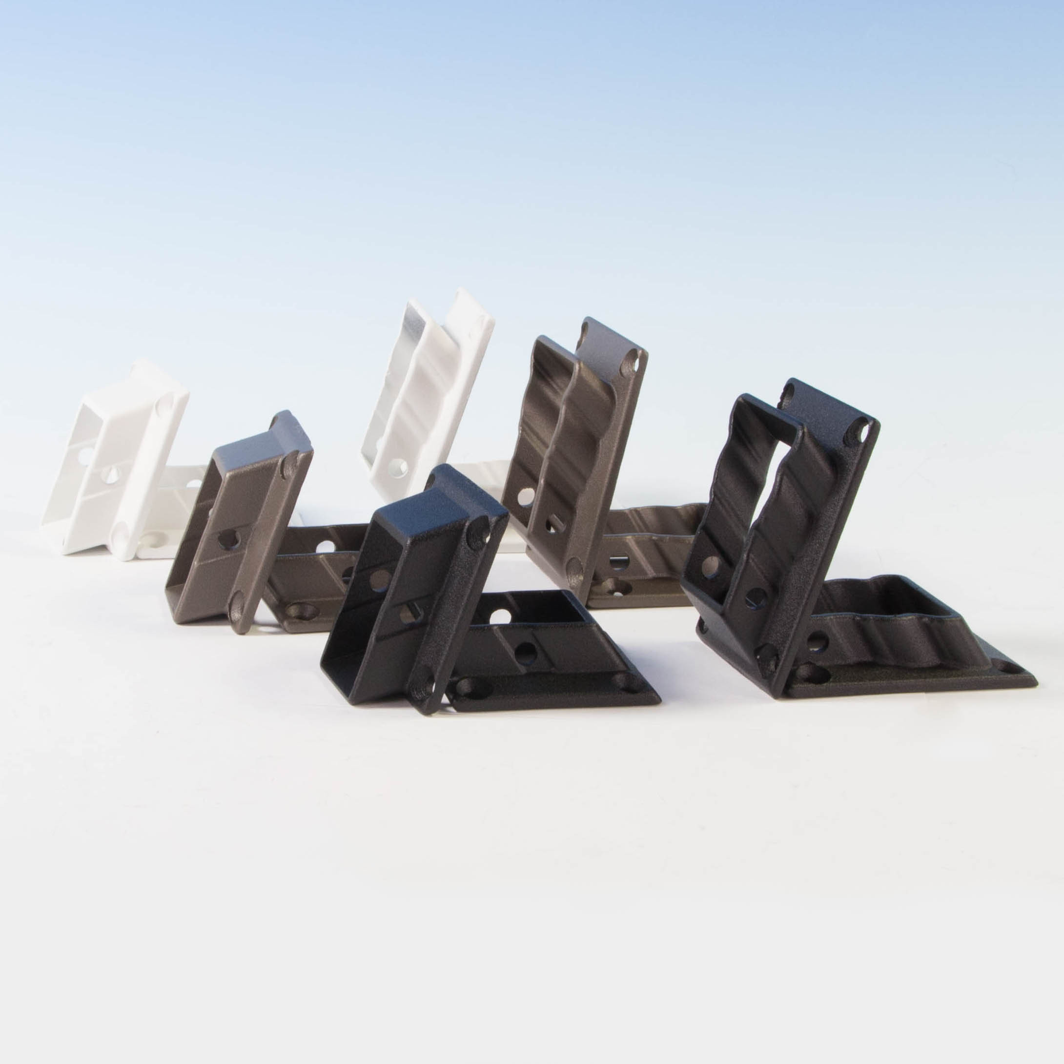 Vertical Cable Additional Stair Bracket by KeyLink