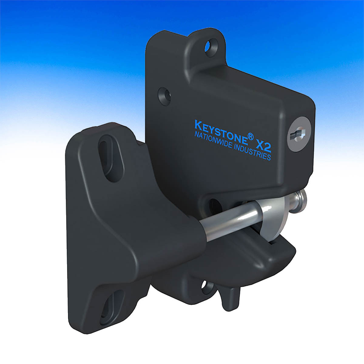 Keystone X2 eXterior Mount Latch by Nationwide Industries