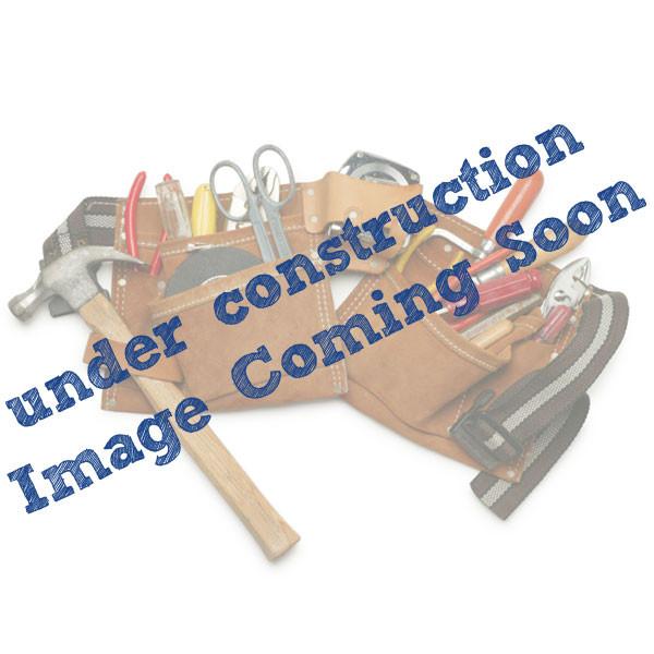 Gemini Solar Post Cap Light by Aurora Deck Lighting - Matte Black - lit
