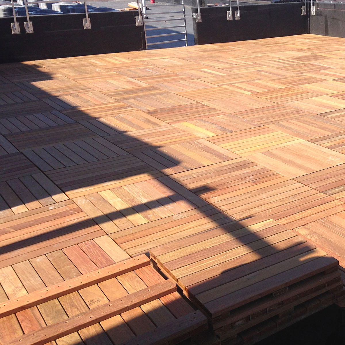 Ipe deck tiles by mrp decksdirect for 6 metre lengths of decking