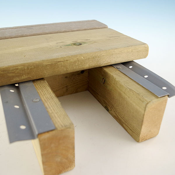 Shadoe®Track Under Deck Fastening System - Fasten deck boards from underneath