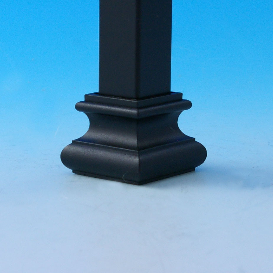 Square Shoe Connectors for Fortress Iron Balusters