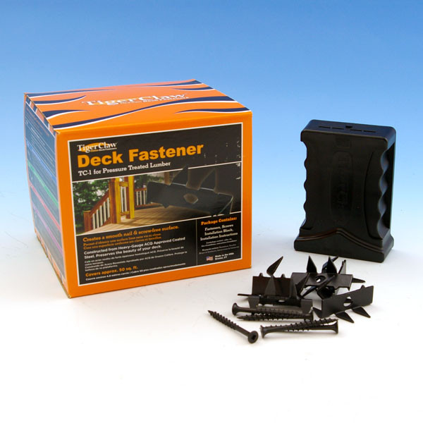 Tiger Claw Hidden Fasteners for Softwoods - TC1