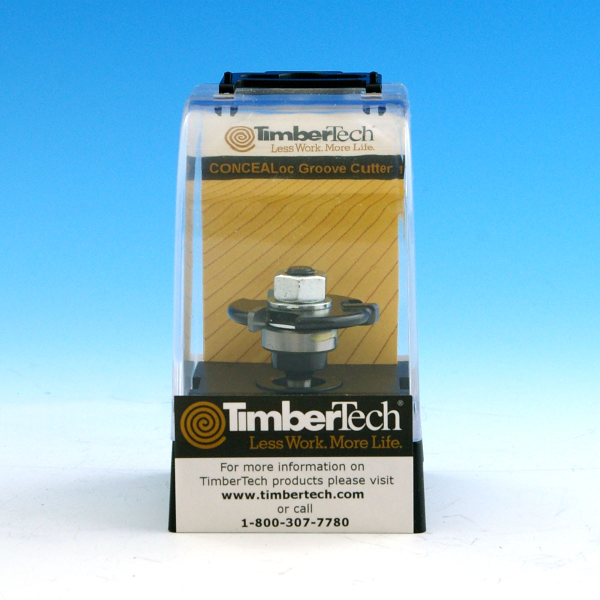 TimberTech CONCEALoc Router Bit