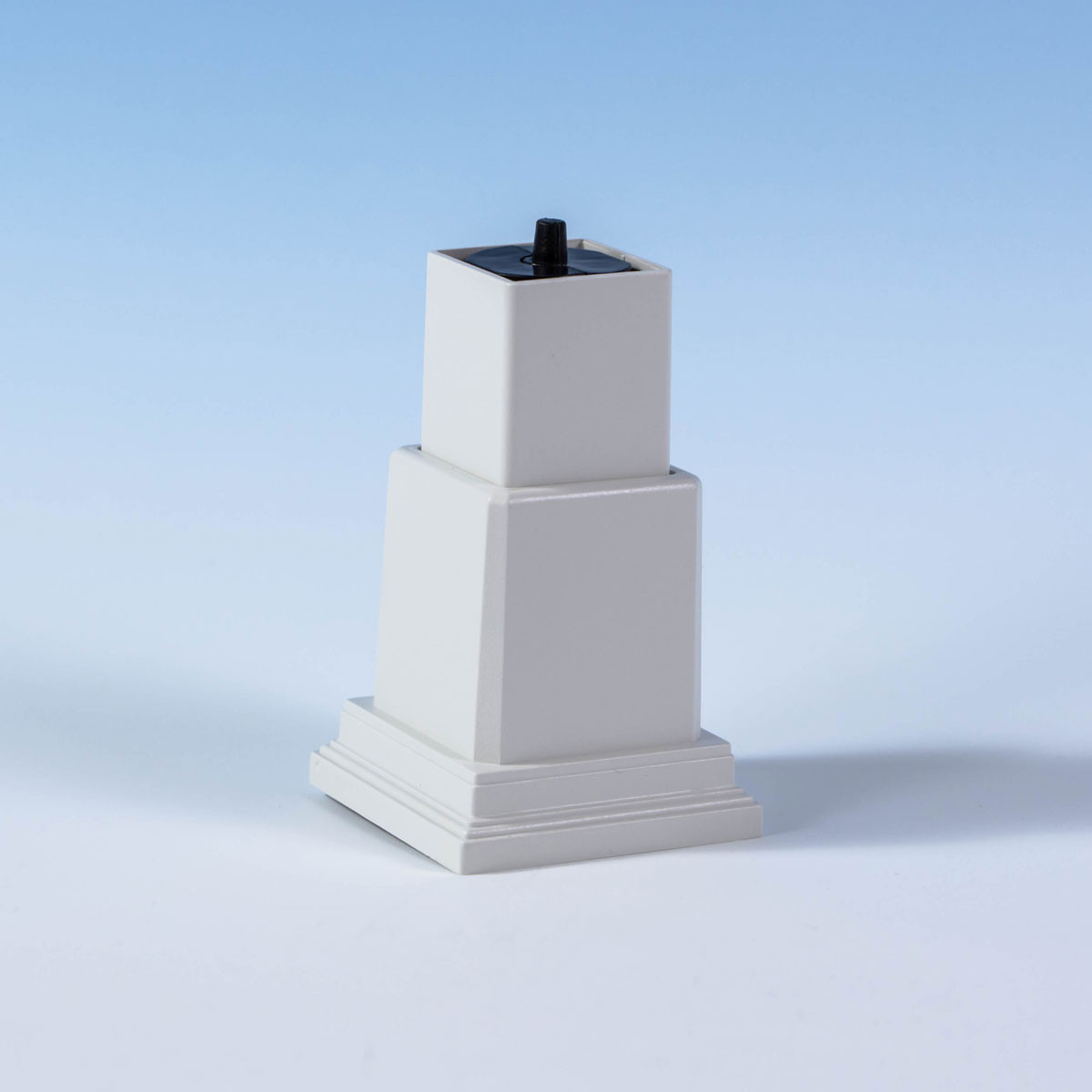 Transcend Adjustable Foot Block by Trex - Classic White style