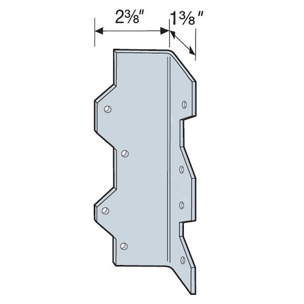 Simpson Strong-Tie Reinforcing Angle Z-Max Bracket