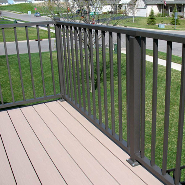 Tuscany Level Rail Kits By Westbury Aluminum Railing With Crossover Post Installation Square Baers