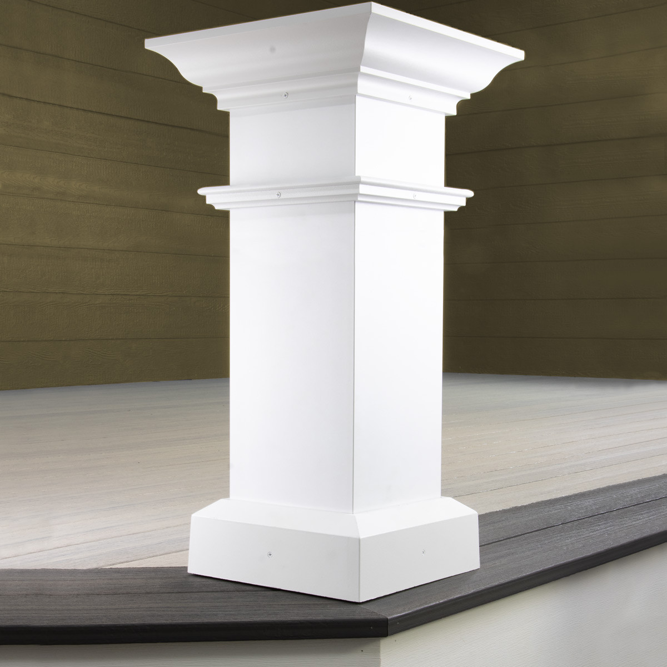 AFCO Wellington Aluminum Column Post Kits - Installed