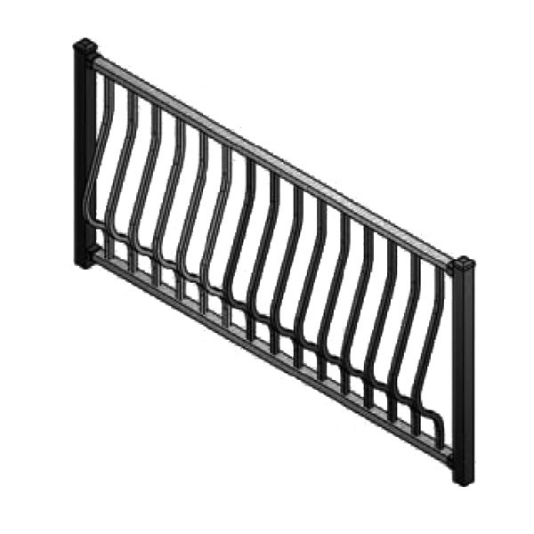 C20 Montego Stair Rail Section Kit by Westbury