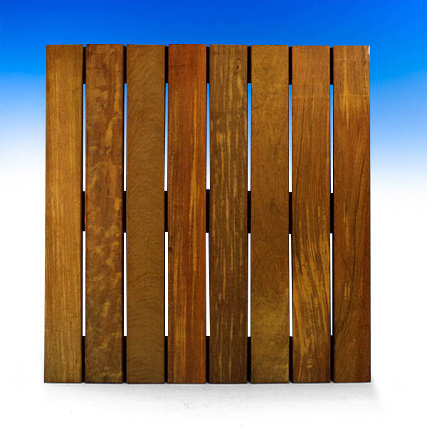 IPE Wood Tiles by Bison-2ft x 2ft-Smooth