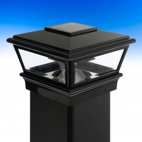 VersaCap Solar Post Cap Light by Deckorators