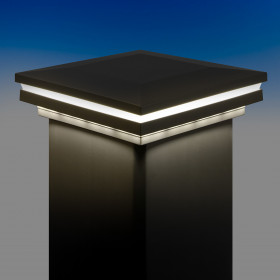 Ornamental Combination Low Voltage LED Post Cap Light by LMT Mercer
