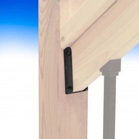 Stair Rail Connectors by Deckorators
