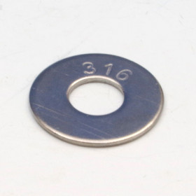 316 Stainless Flat Washers by Feeney